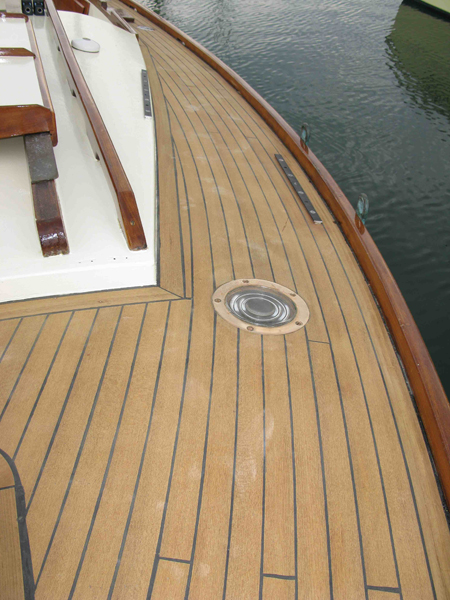 Laying Teak Decking On Board With Mark Corke
