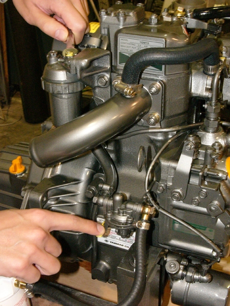 bleeding a diesel engine on board with mark corke rh onboardwithmarkcorke com Yanmar Diesel Engine Parts Breakdown 23 HP Yanmar Engine