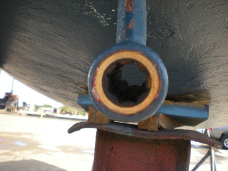 New-cutlass-bearing-installed