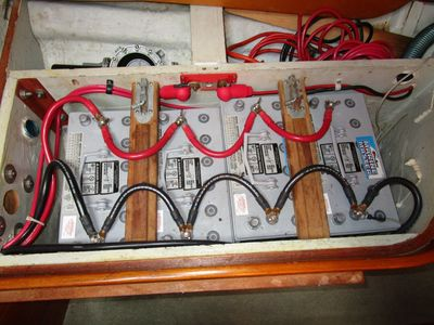 correct battery wiring on board with mark corke Boat Electrical Wiring
